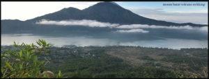 Mount batur volcano Bali