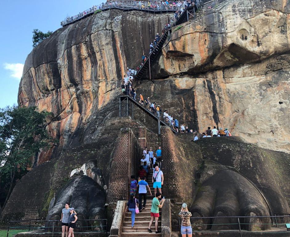 Gate to Palace of Sigiriya