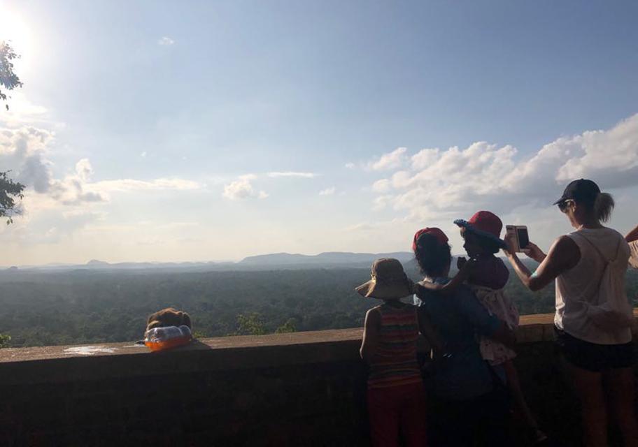 Resting spots  of Sigiriya