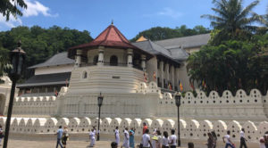 Temple of the tooth Kandy, Sri lanka