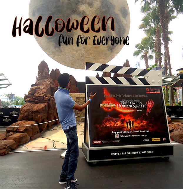 Halloween at Universal studio