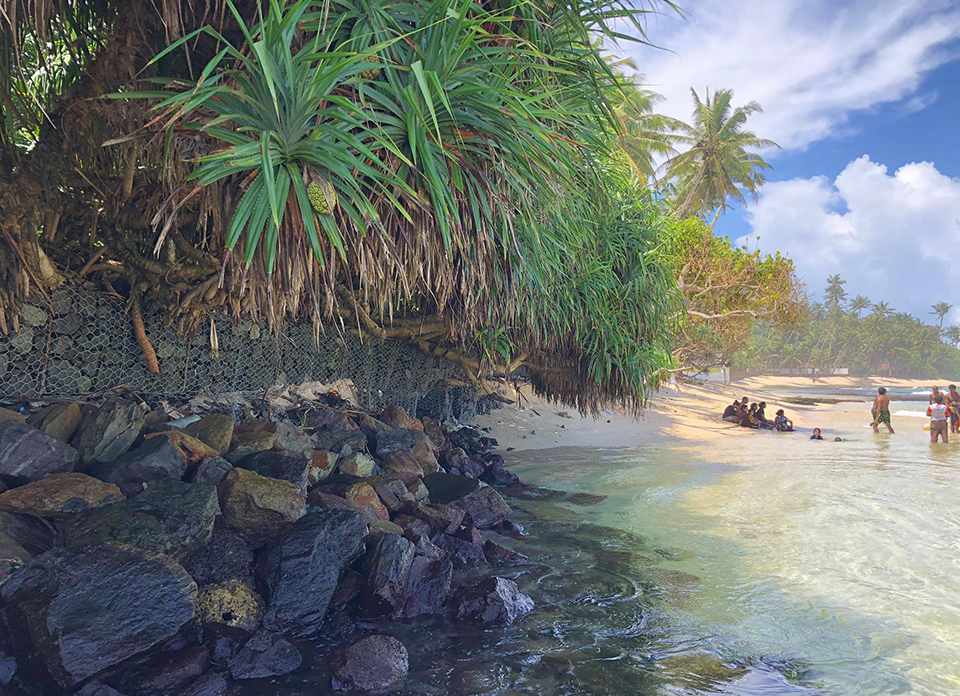 Thalpe beach sri lanka